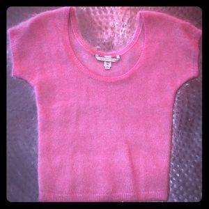 NWOT! Victoria's Secret Fuzzy Pink Sweater sz. M
